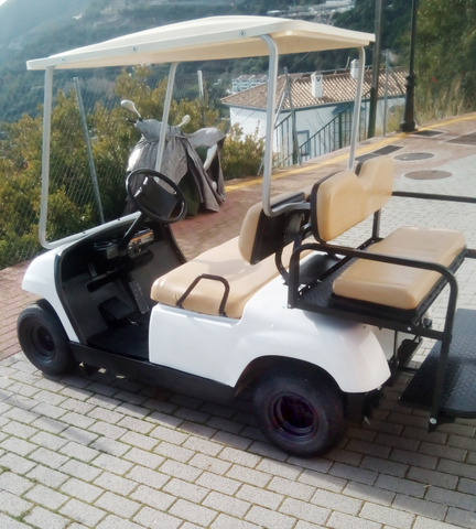 YAMAHA-EZGO-CLUB CAR - BUGGIE GOLF GASL-ELECT - foto 4