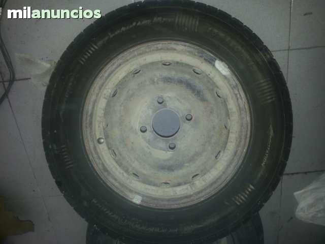 LLANTAS DE 13 PULGADAS Y DE 4 TORNILLOS - foto 1