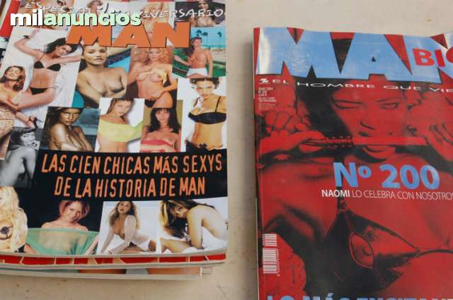 Especial  Revista Man