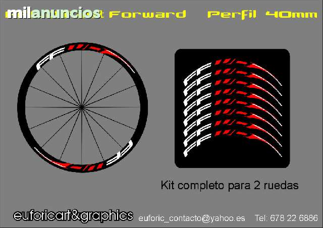 KIT PEGATINAS FFWD FAST FORWARD