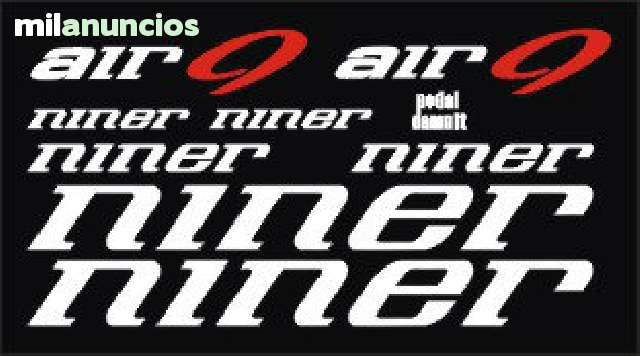 KIT PEGATINAS NINER AIR 9
