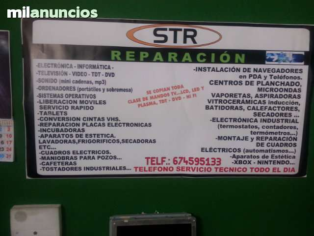 S. T. R: TALLER DE REPARACION MULTIMARCA