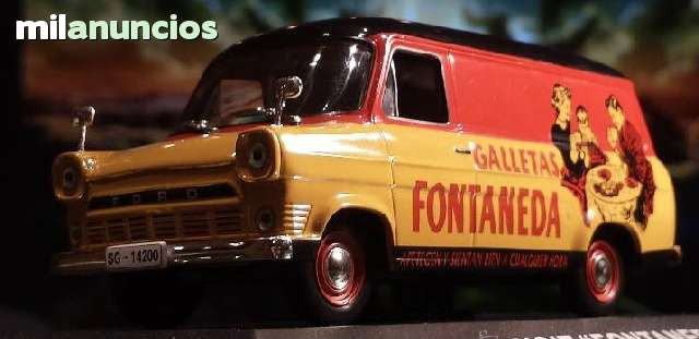 Ford Transit Galletas Fontaneda Escala 1