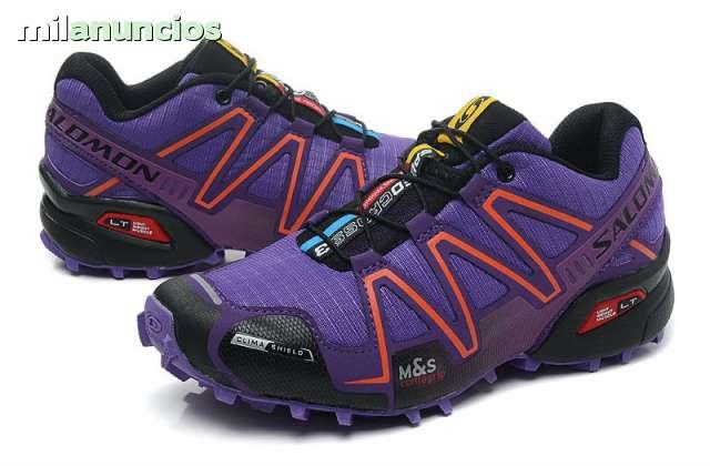 zapatos salomon para monta�a usadas