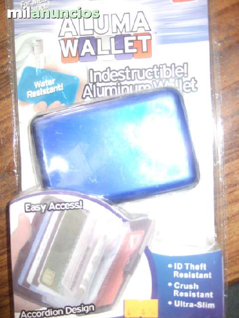 ALUMA WALLET CARTERA INDESTRUCTIBLE ¡¡