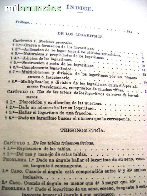 TABLAS DE LOS LOGARITMOS VULGARES 1958 T - foto 5