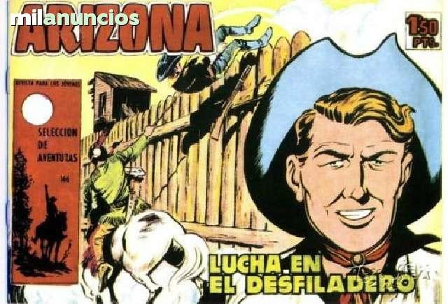 TEBEO LUCHA EN EL DESFILADERO.  ARIZONA.  - foto 1