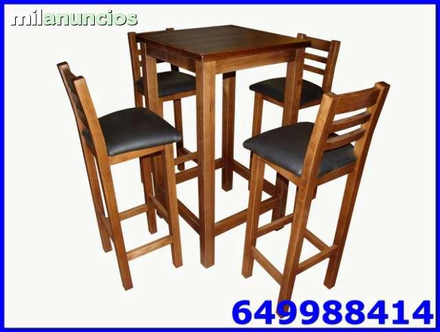 mesas y sillas hosteleria baratas toledo