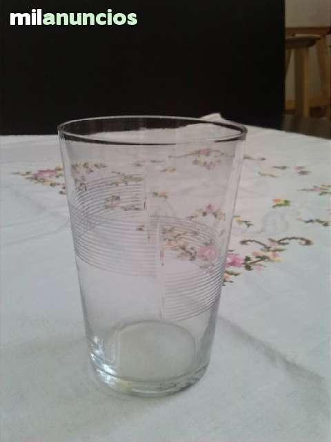 Vaso De Cristal Decorado