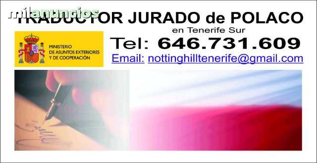 TRADUCCIONES JURADAS DE POLACO - foto 1
