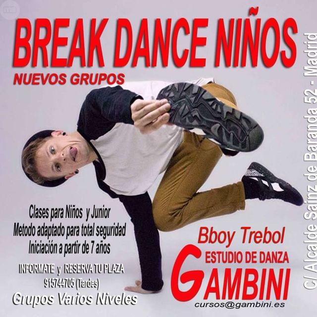 BREAK DANCE PARA NIÑOS - foto 1