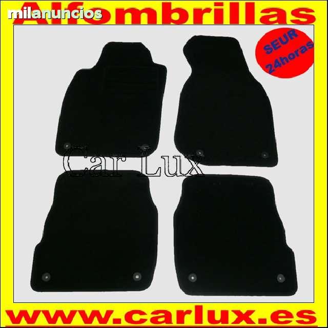 Alfombras Alfombrillas AUDI A6 C5 1997-2005 Edition Velour a medida con talonera