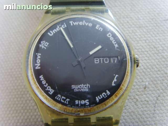 Reloj SwatchSwissAño 1991Funciona SwatchSwissAño 1991Funciona SwatchSwissAño 1991Funciona Reloj Reloj ymnv8wPN0O