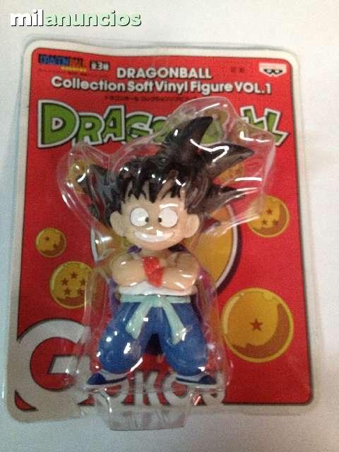 Figura Goku Dragon Ball Soft Vinyl