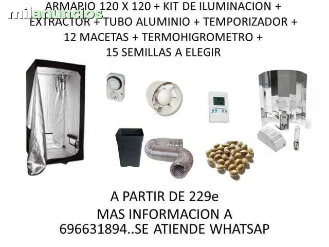 ARMARIO INTERIOR ECONOMICO 1, 2X1, 2