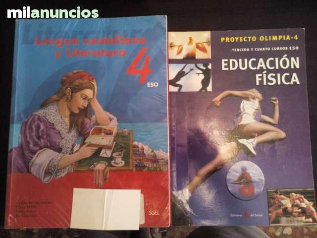 LIBROS DE TEXTO DE 4º DE ESO