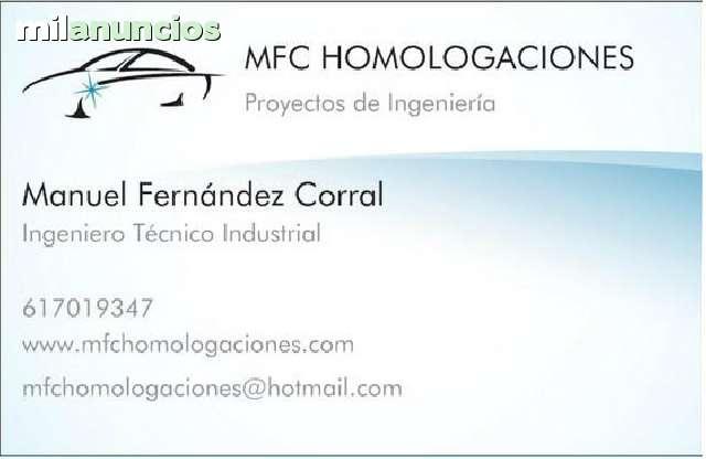 PROYECTOS HOMOLOGACIONES DE VEHICULOS - foto 1