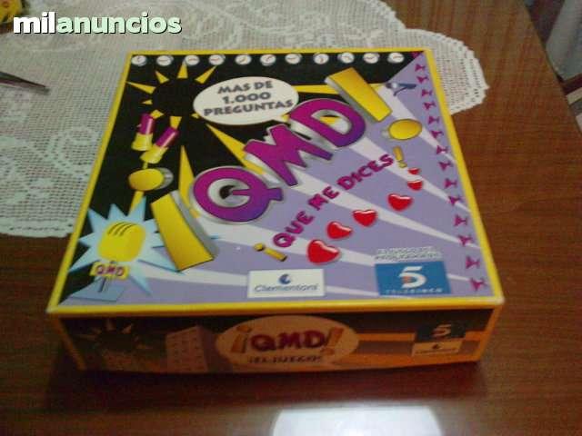 JUEGO DE MESA QMD (QUE ME DICES)