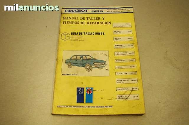 MANUAL DE TALLER DEL PEUGEOT 505