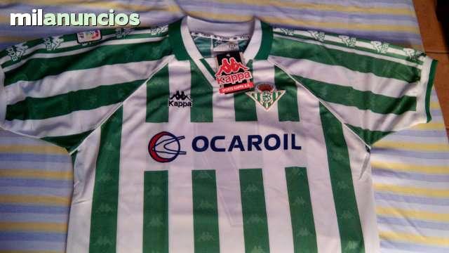 eeb58f18d COM - Camiseta betis kappa. Futbol camiseta betis kappa en Sevilla. Compra  venta de equipamiento: camisetas, balones, botas, zapatilla,.
