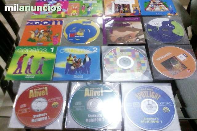 CDS DE LIBROS DE 1º A 4º DE ESO.