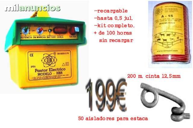 PASTOR ELECTRICO, TODO TIPO DE ANIMALES