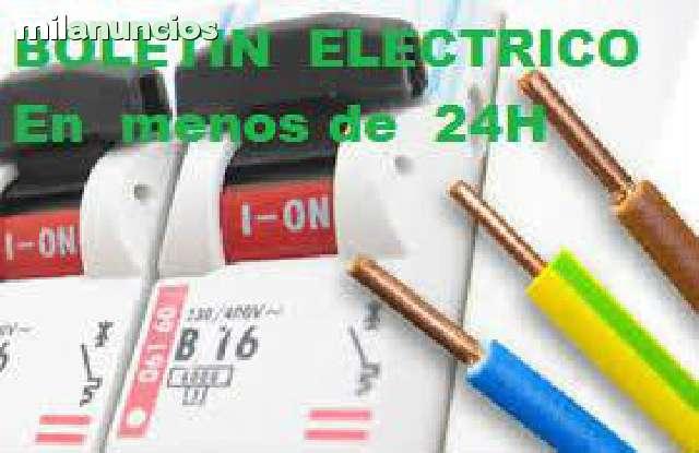 BOLETIN  ELÉCTRICO  ELECTRICIDAD - foto 2