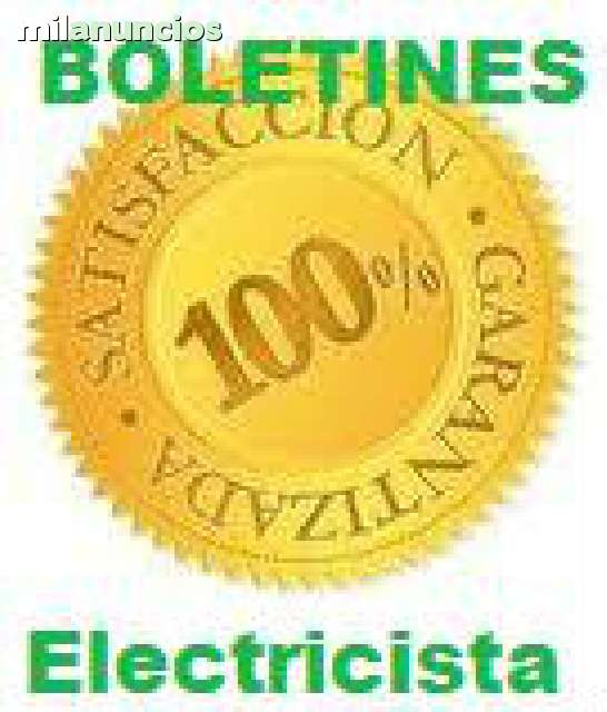 BOLETIN  ELÉCTRICO  ELECTRICIDAD - foto 3