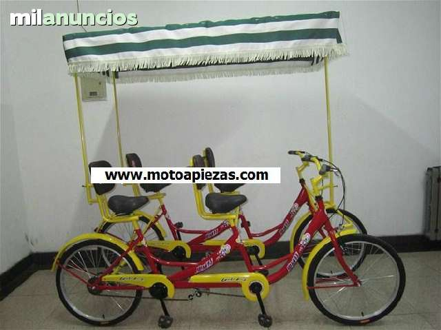 SIGHTSEEING COCHES BICICLETA 4 PERSONAS