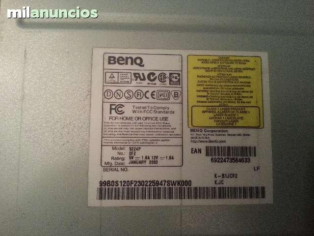 GRABADORA BENQ DE CD 52X24X52 - foto 2