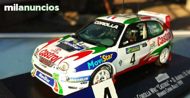 Toyota Corolla Wrc Rallye De China 1999