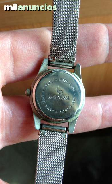 Steeljapan Reloj Reloj Stainless Laguna Movt f6gb7y
