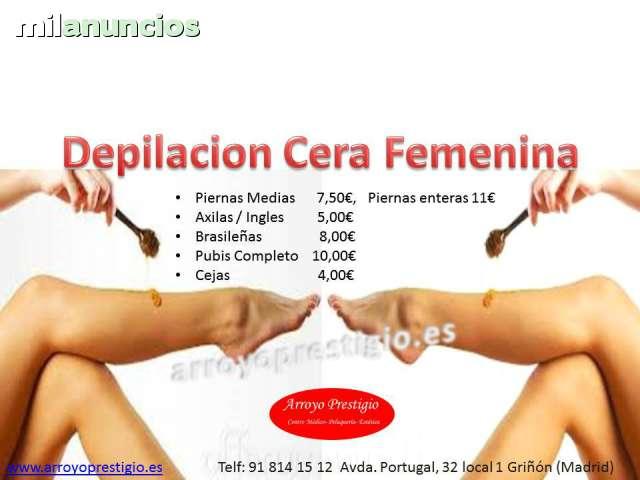 depilacion pubica femenina con cera