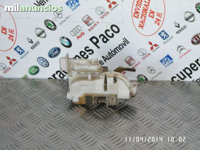 Tubo pantalones escape seat cordoba Ibiza 2 6k 96-97 toledo 1 1l 95-99