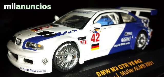 Bmw M3 Gtr V8 Jj.Lehto - Alms 2001 De Ix