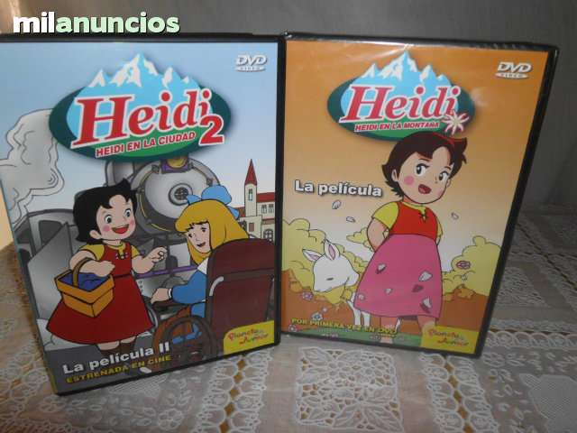 HEIDI LA PELICULA 1 Y 2 DVD COMPLETA