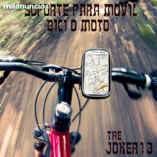 SOPORTE PARA GALAXY S4 MINI BICI O MOTO - foto 1