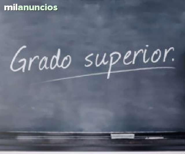 EXAMEN DE ACCESO A GRADO SUPERIOR