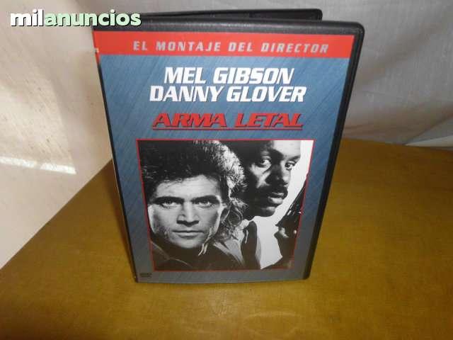 DVD ARMA LETAL MEL GIIBSON