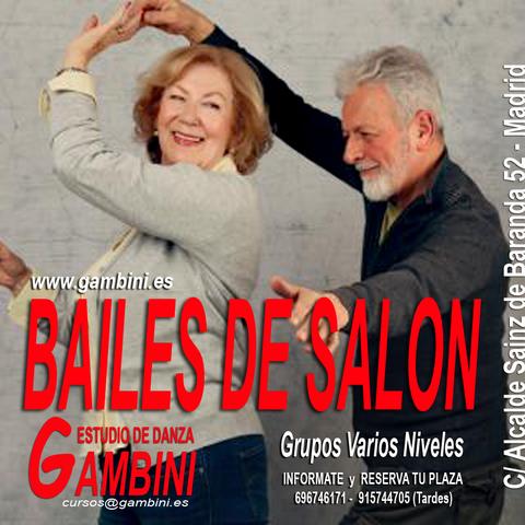 BAILES DE SALÓN - foto 1