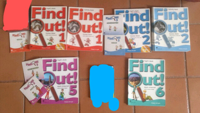 FIND OUT MACMILLAN 1-2-3-4 5-6 PRIMARIA