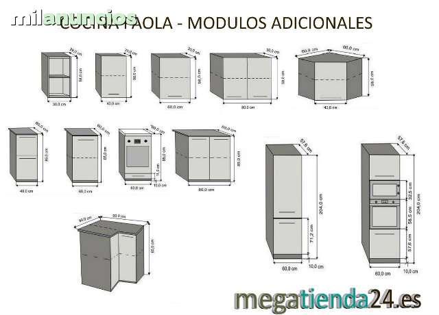 MIL ANUNCIOS.COM - Muebles de cocina completa Paola Plus