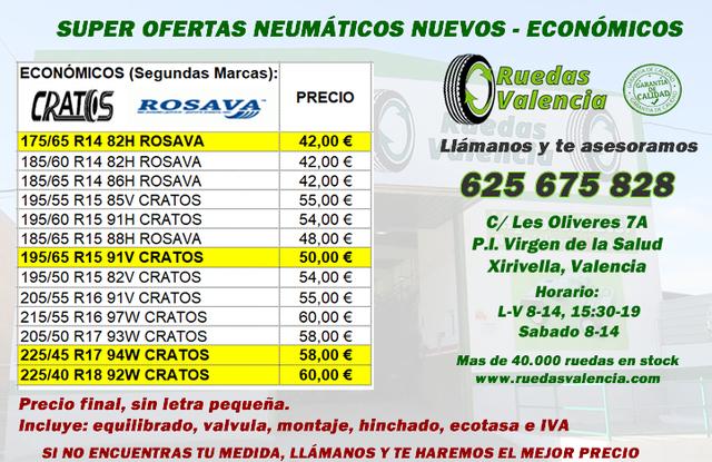 NEUMATICOS NUEVOS  42 EUR PRECIO FINAL - foto 1