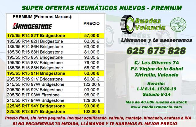 NEUMATICOS NUEVOS  42 EUR PRECIO FINAL - foto 2