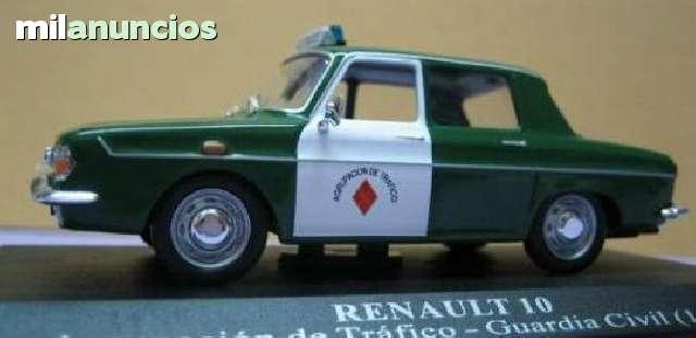Renault 10 Guardia Civil (1967) Escala 1