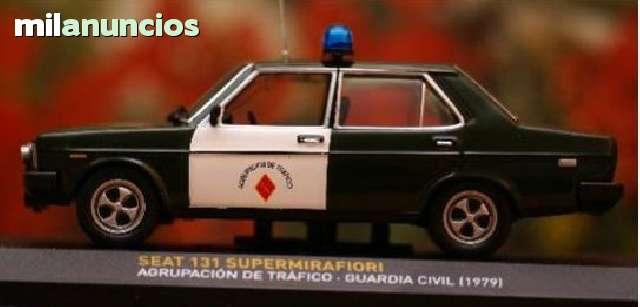 Seat 131 Guardia Civil Escala 1:43 De Al