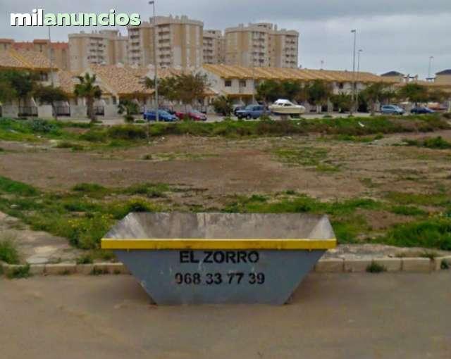RECOGIDA DE ESCOMBROS EN LA MANGA - foto 2