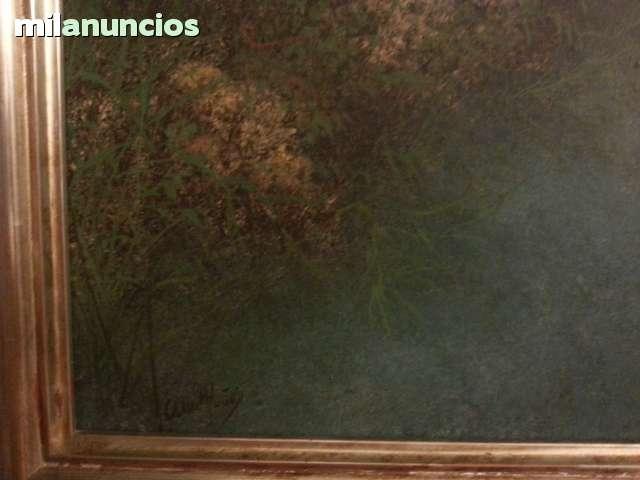 CUADRO DE ANA MUÑOZ REYES BARCA AMARRADA - foto 3