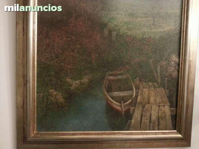CUADRO DE ANA MUÑOZ REYES BARCA AMARRADA - foto 4