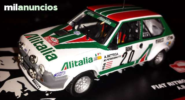 Fiat Ritmo Abarth Gr.2 Rallye De Monteca
